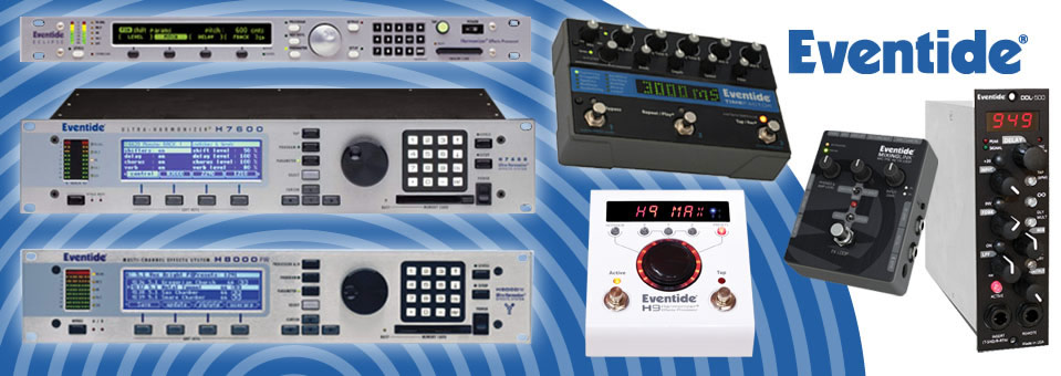 Canadian Eventide Representation - Digital Effects Processors Software Studio Guitar Effects Pedals Guitar Pedals StompBox Boutique