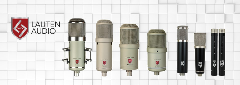 Canadian Lauten Audio Representation - Studio Microphones Tube Boutique Microphones