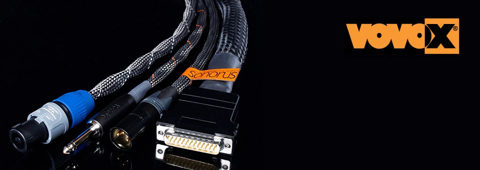 Canadian Vovox Representation - Premium Audio Cables Analog Digital Sound Conductors